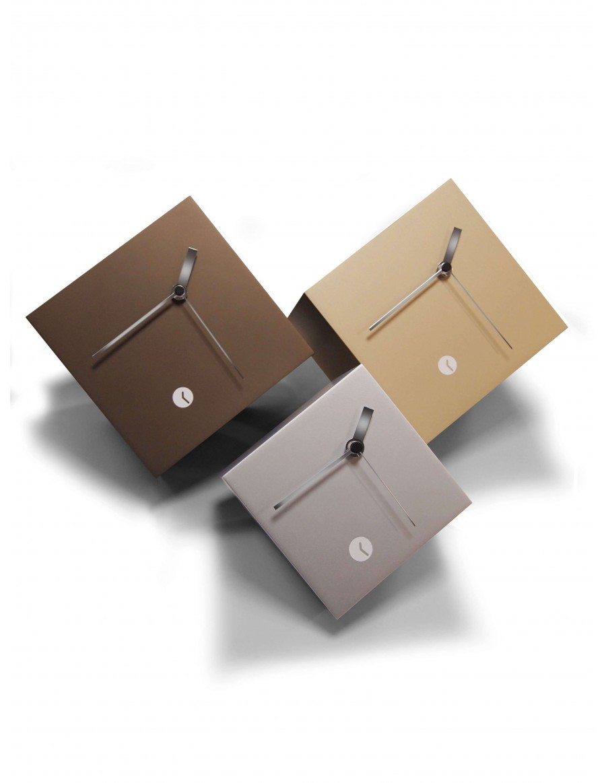 Tothora box Metal finish clock