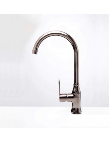 Alveus Slim Monarch kitchen mixer tap, anthracite