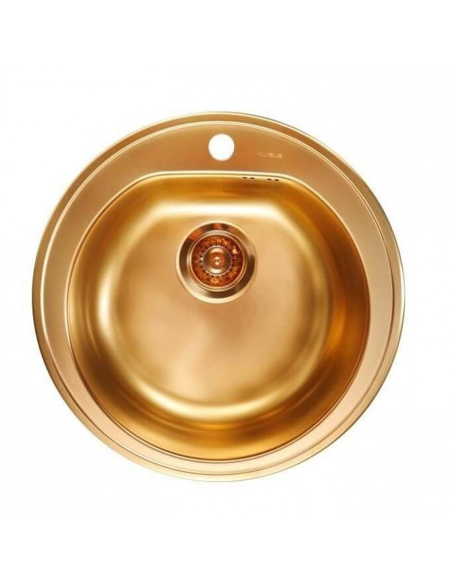 Alveus inset kitchen sink Form 30 bronze finish