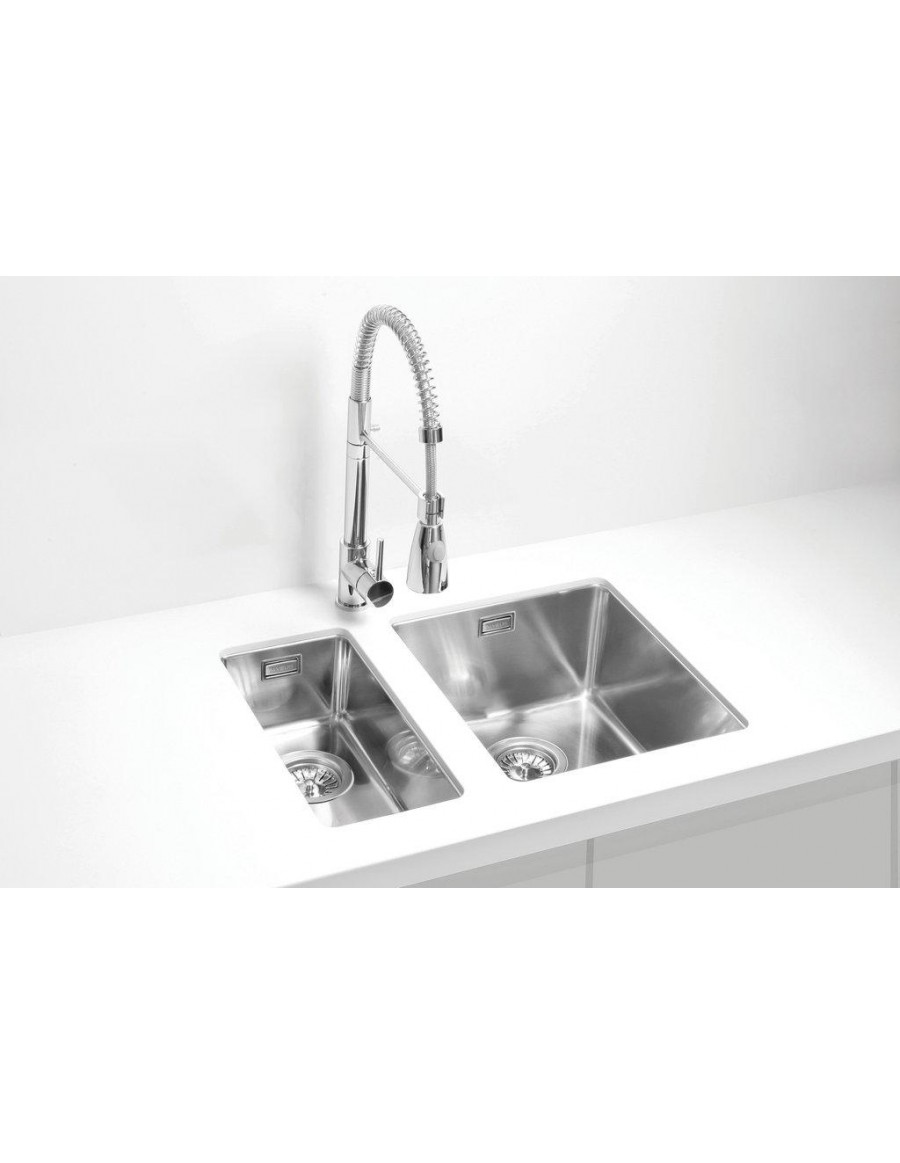 Alveus Kombino 10 and 20 undermount sink, stainless steel