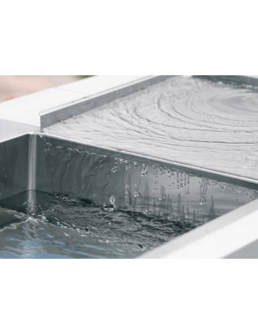 Alveus Stylux stainless steel movable drainer