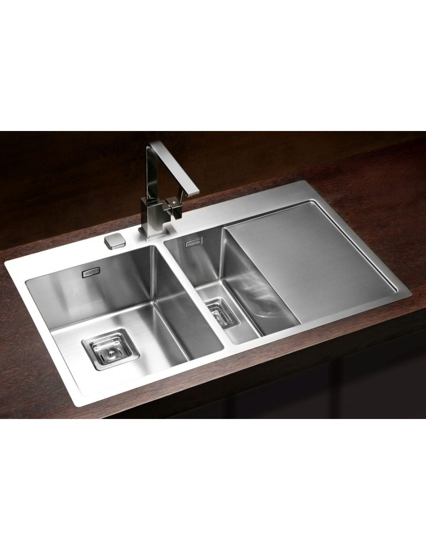 Alveus Stylux 60, flush or flat-mount sink