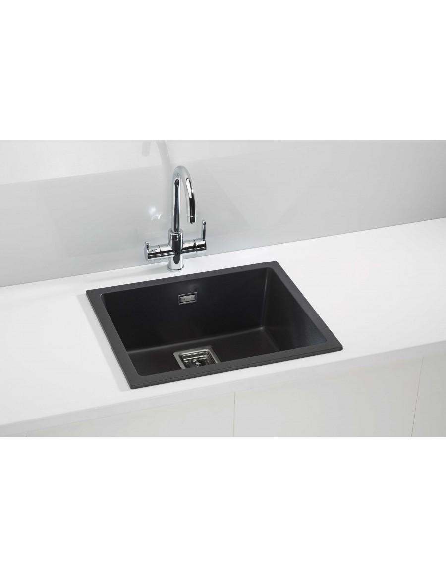 Alveus Quadrix 50 Granital Plus, inset/undermount sink, Twilight
