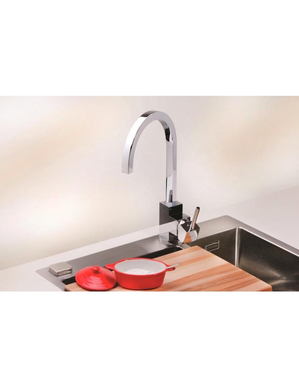 Alveus Lago kitchen mixer tap