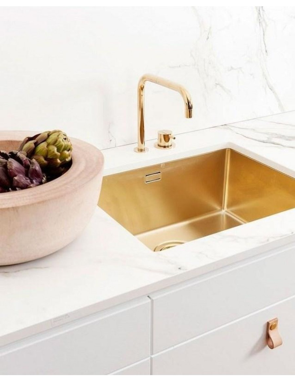 Alveus kitchen sink Monarch bronze Quadrix 50, bronze