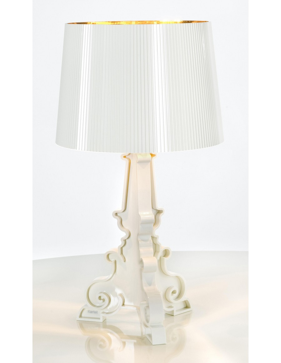Table lamp Bourgie by Kartell / 00 white gold