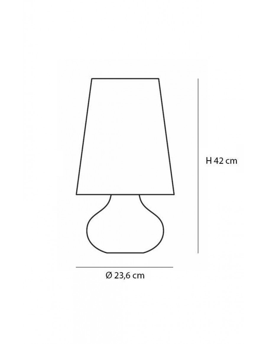 Cindy enk interior senk cindy table lamp by kartell geotapseo Image collections