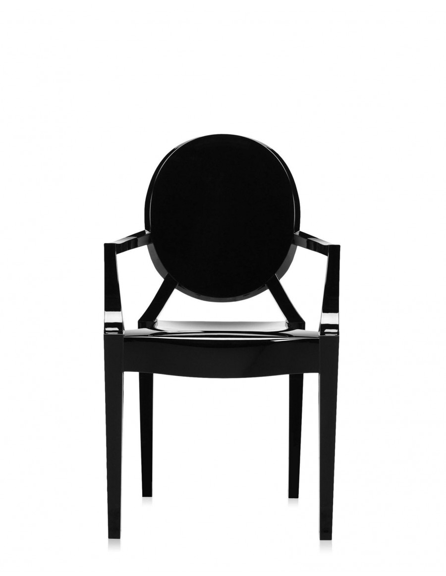 Louis Ghost E6 Glossy Black by Kartell