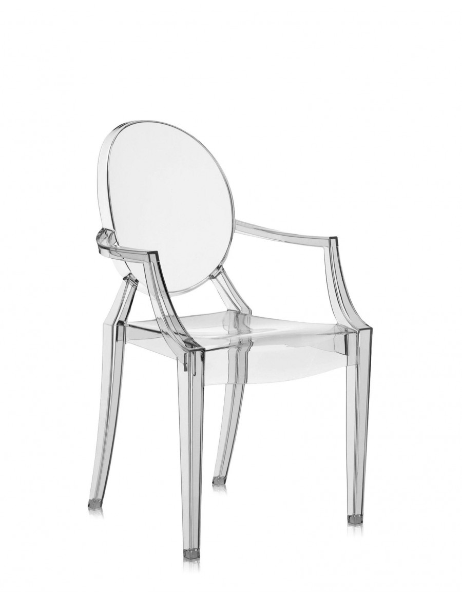 Louis Ghost  J1 Smoke Grey by Kartell