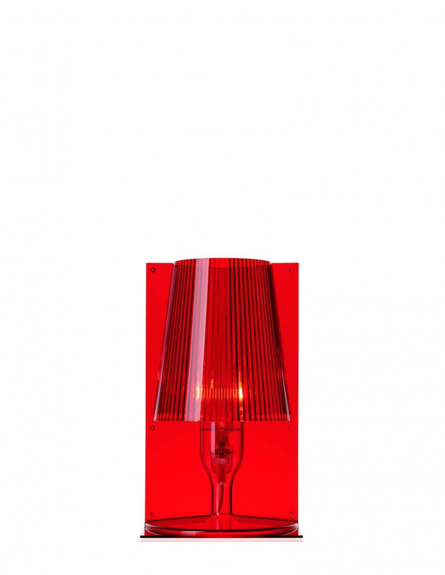 Table lamp Take by Kartell / Q3 red