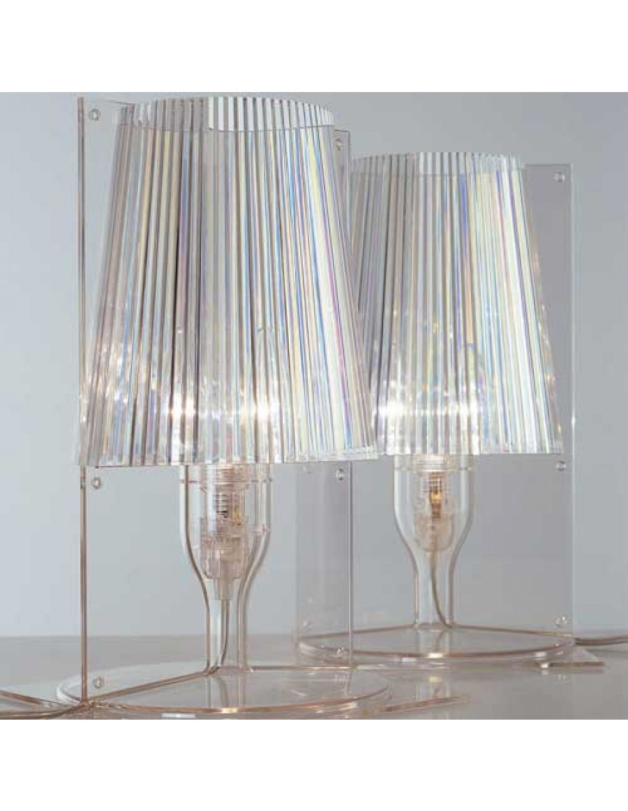 Table lamp Take by Kartell / B4 Crystal