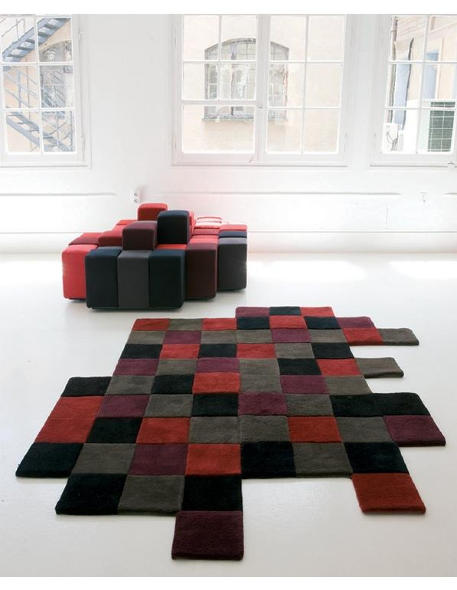 Contemporary Rug / Wool / Hand Made   Do Lo Rez 2 By Nanimarquina ...