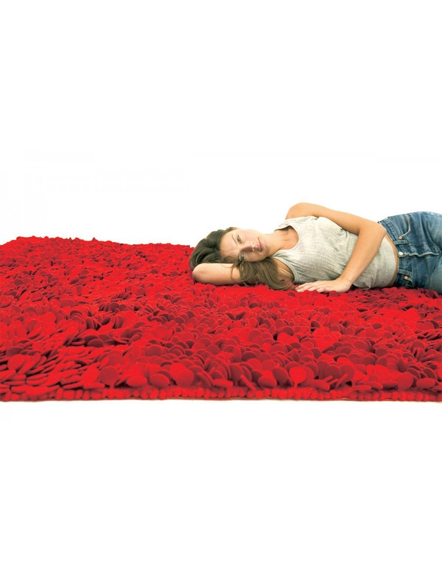 Contemporary rug / wool / hand made - ROSES by Nanimarquina