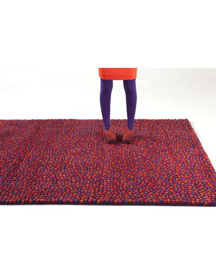 Contemporary rug / wool / patterned / hand-tufted - TOPISSIMO by Nanimarquina