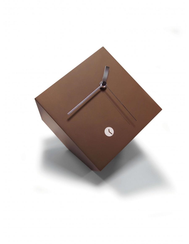 Tothora box bronze clock