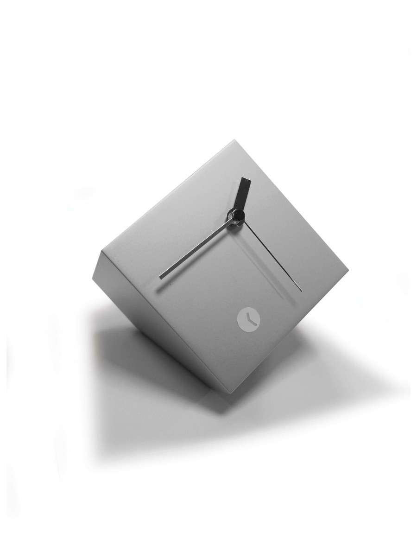 Tothora box silver clock