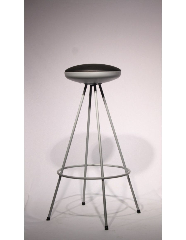 Stol barski UFO crn