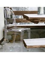 Victoria Ghost transparenten stol | odprodaja zaloge -30%