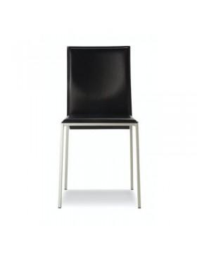 Stol Janet | Grupo Sintesi - črno usnje