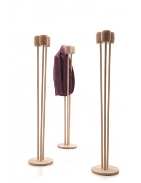 Reed coat stand by L'abbate