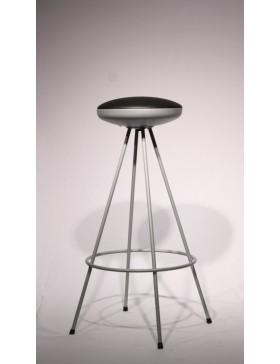 Stol barski UFO črn  | zadnji kos -50%