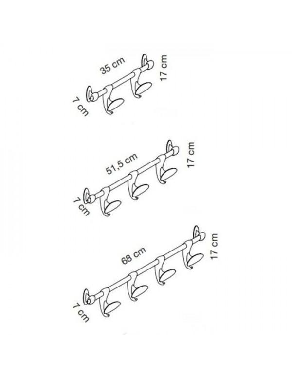 HOOK stenski obešalnik - Caimi brevetti