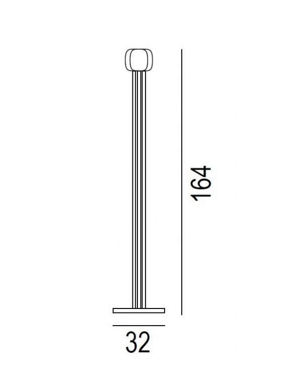 Reed coat stand dimensions