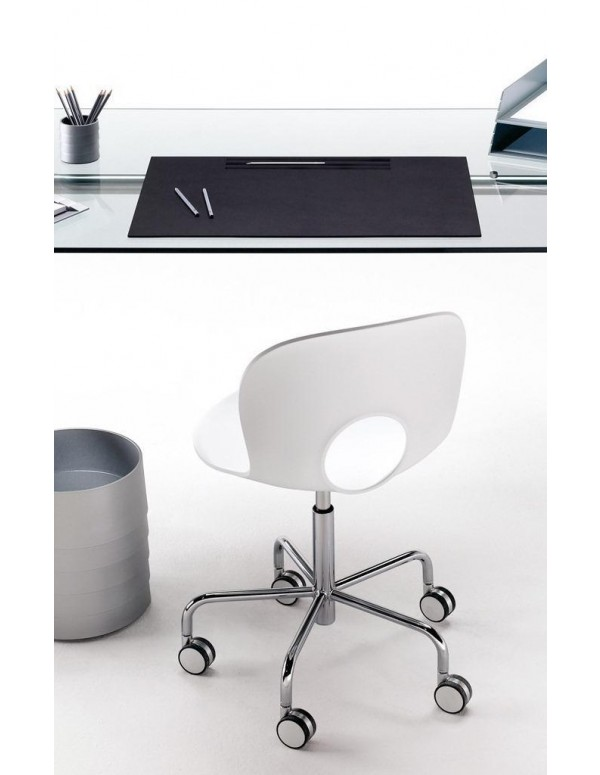 Olivia swivel office chair, fixed height