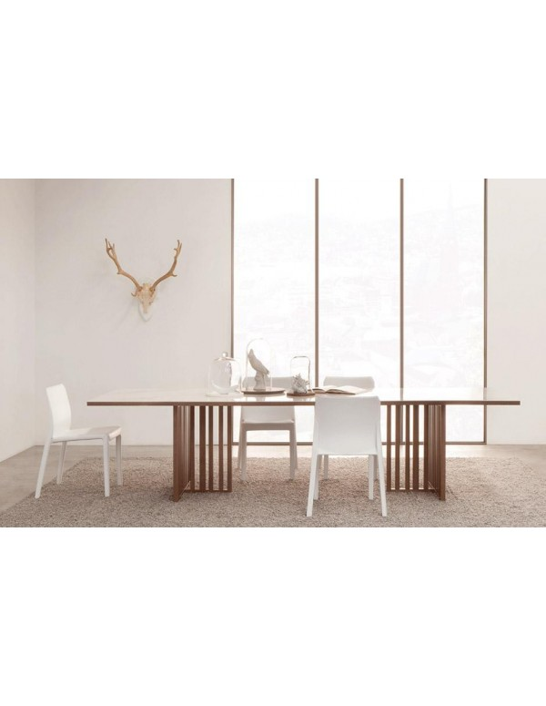 Trent8, marmor, 300x100 cm, dimljen hrast