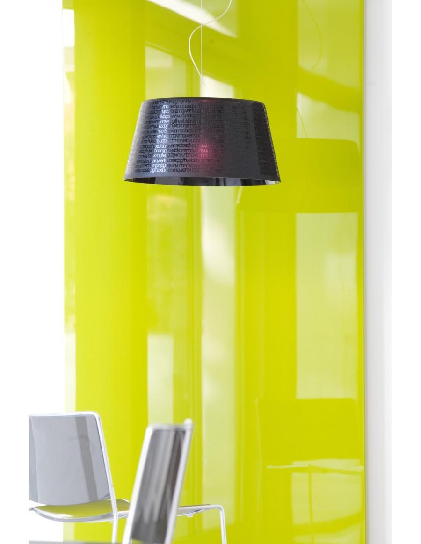 ABC S5 viseča svetilka black crystal