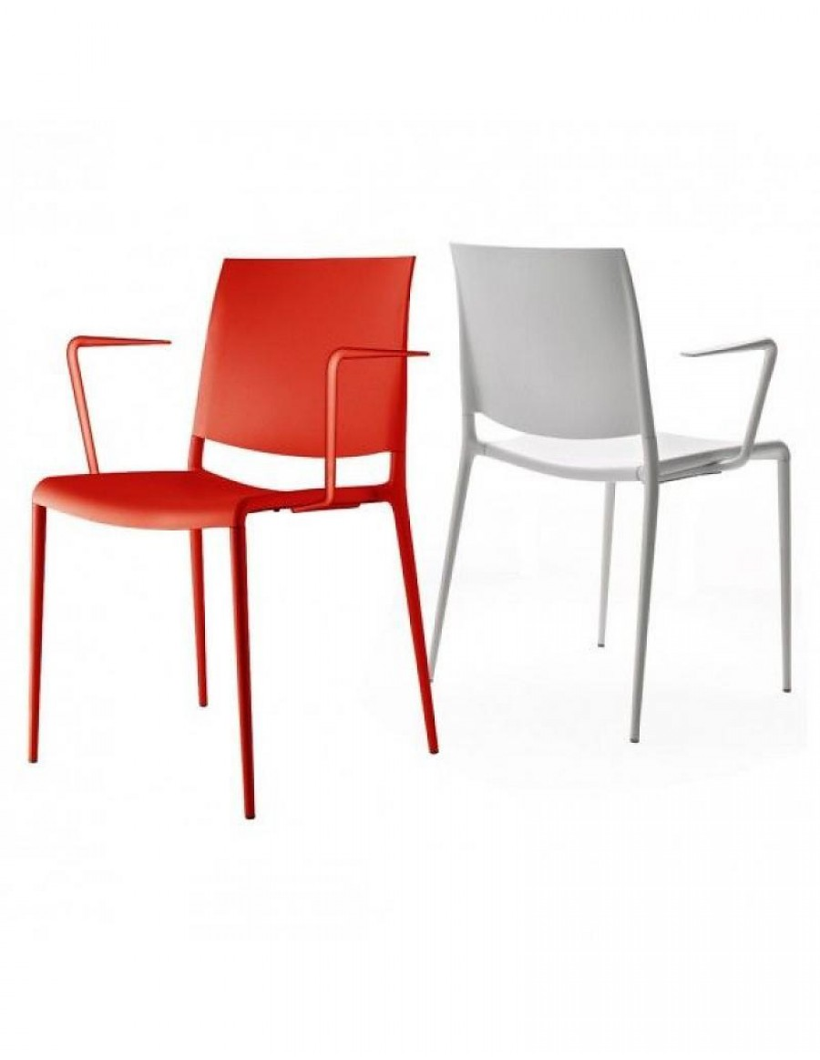 Alexa stackable armchair by Rexite