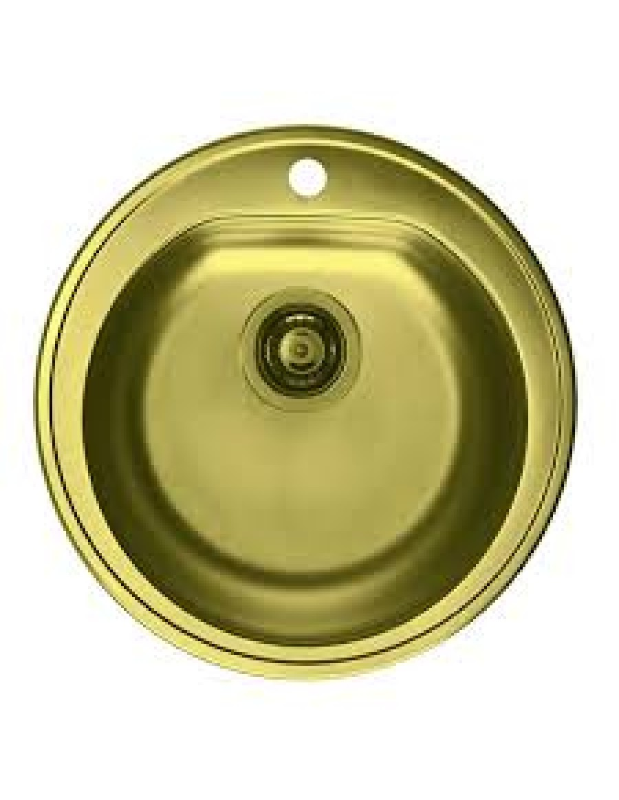 Alveus inset kitchen sink Form 30 gold finish