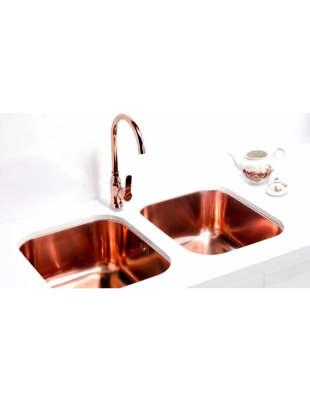 Alveus Slim Monarch visokotlačna kuhinjska armatura, copper