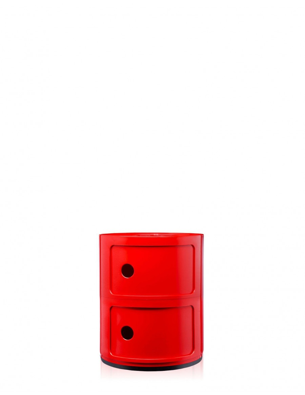 Componibili predalnik Kartell - 10/red - rdeče barve
