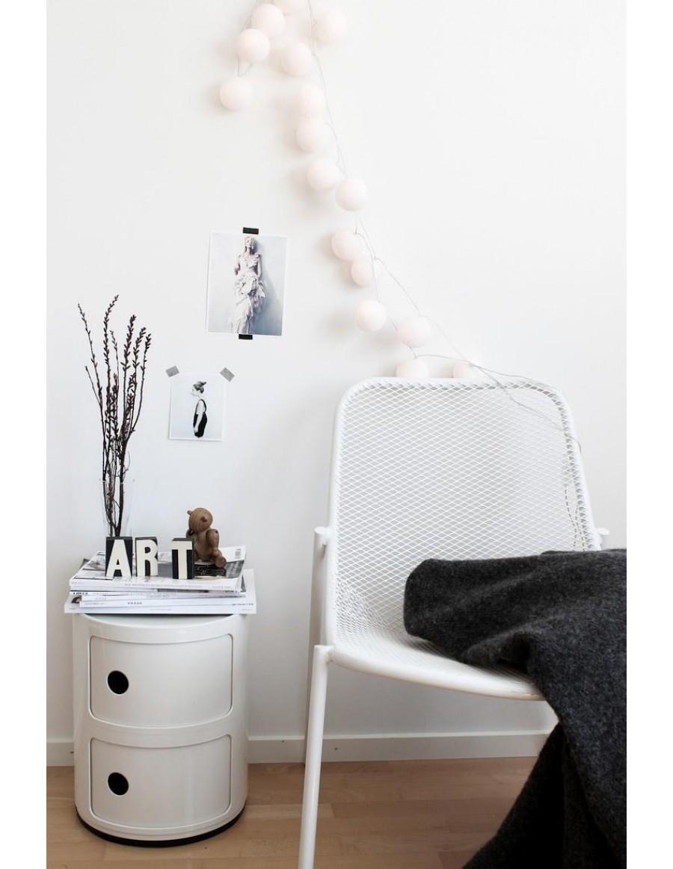 Componibili predalnik Kartell - 03/white - bele barve