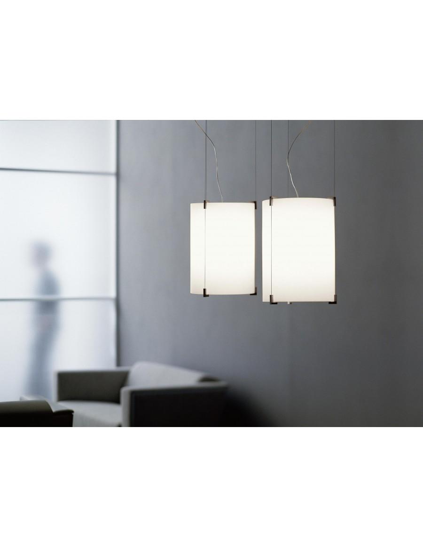 CPL S1 stropna svetilka Opal White / opalno bela DUO