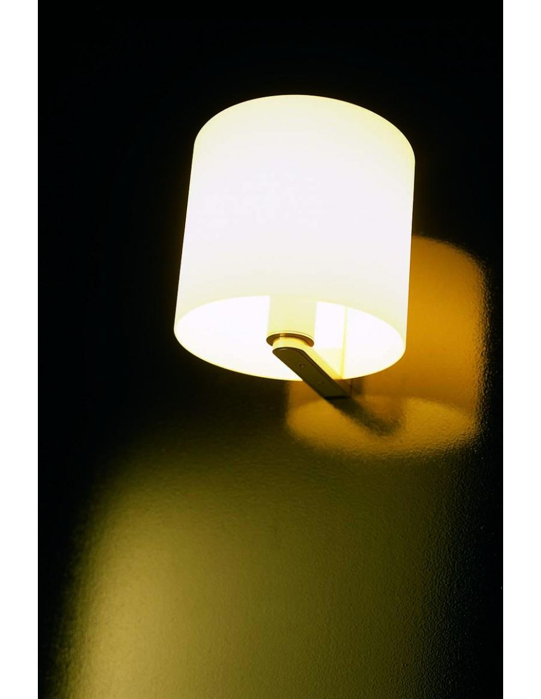 CPL W1 stenska svetilka Opal white / opalno bela
