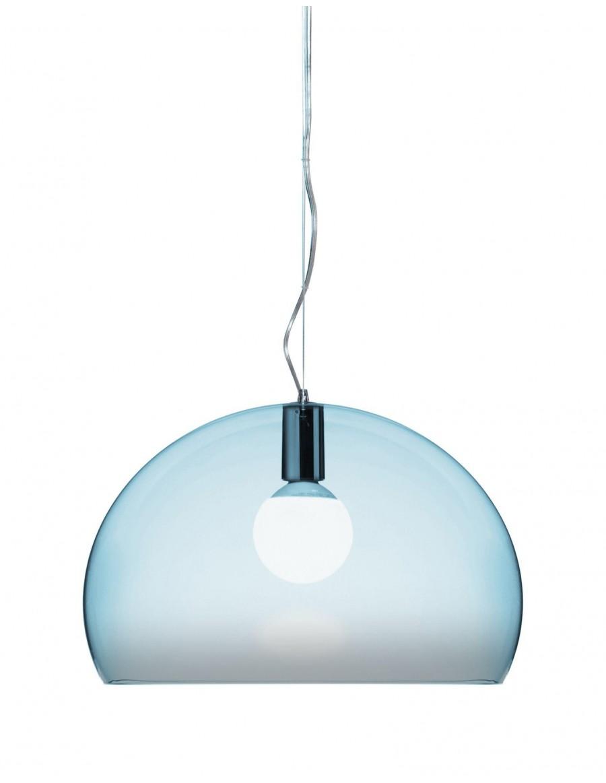 Viseča luč FL/Y  Kartell K2/light blue - prosojna svetlo modra