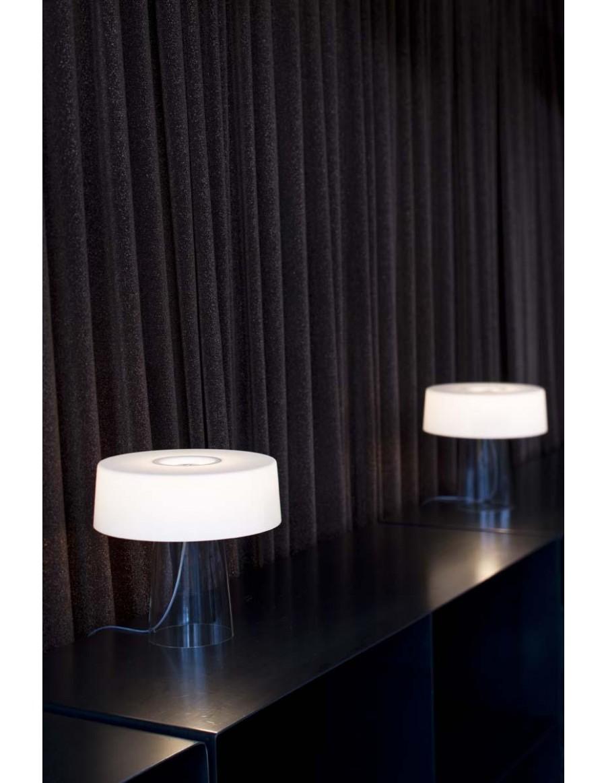Glam Small namizna svetilka Clear / Opal White