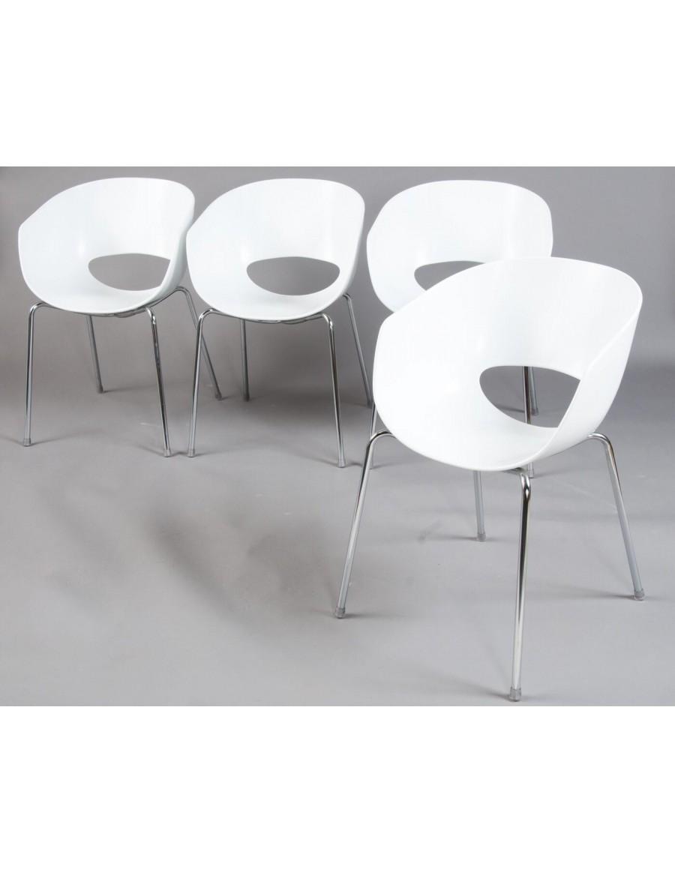 Orbit stol z roko-nasloni Gruppo Sintesi