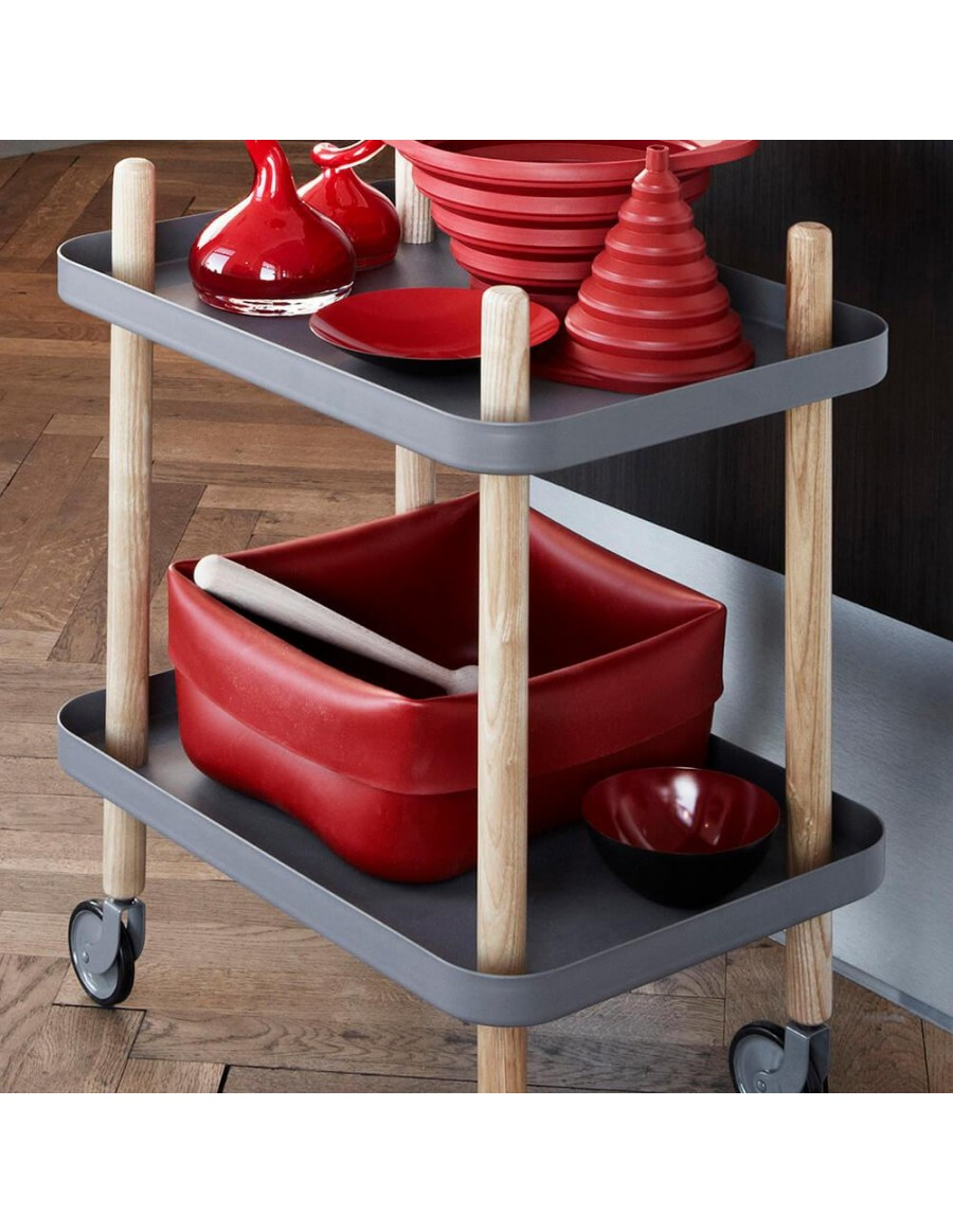 Normann Copenhagen Washing-up bowl rdeča guma