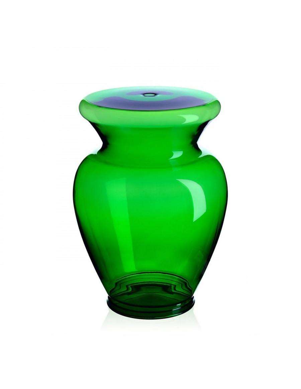 bottle green La Boheme stol / nizka miza - Kartell
