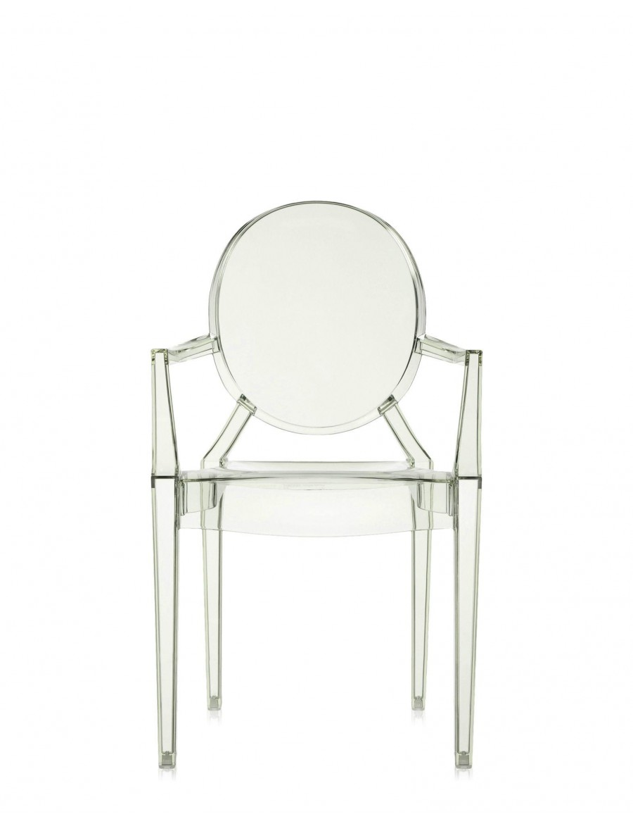 Louis Ghost  J4 Crystal Green by Kartell