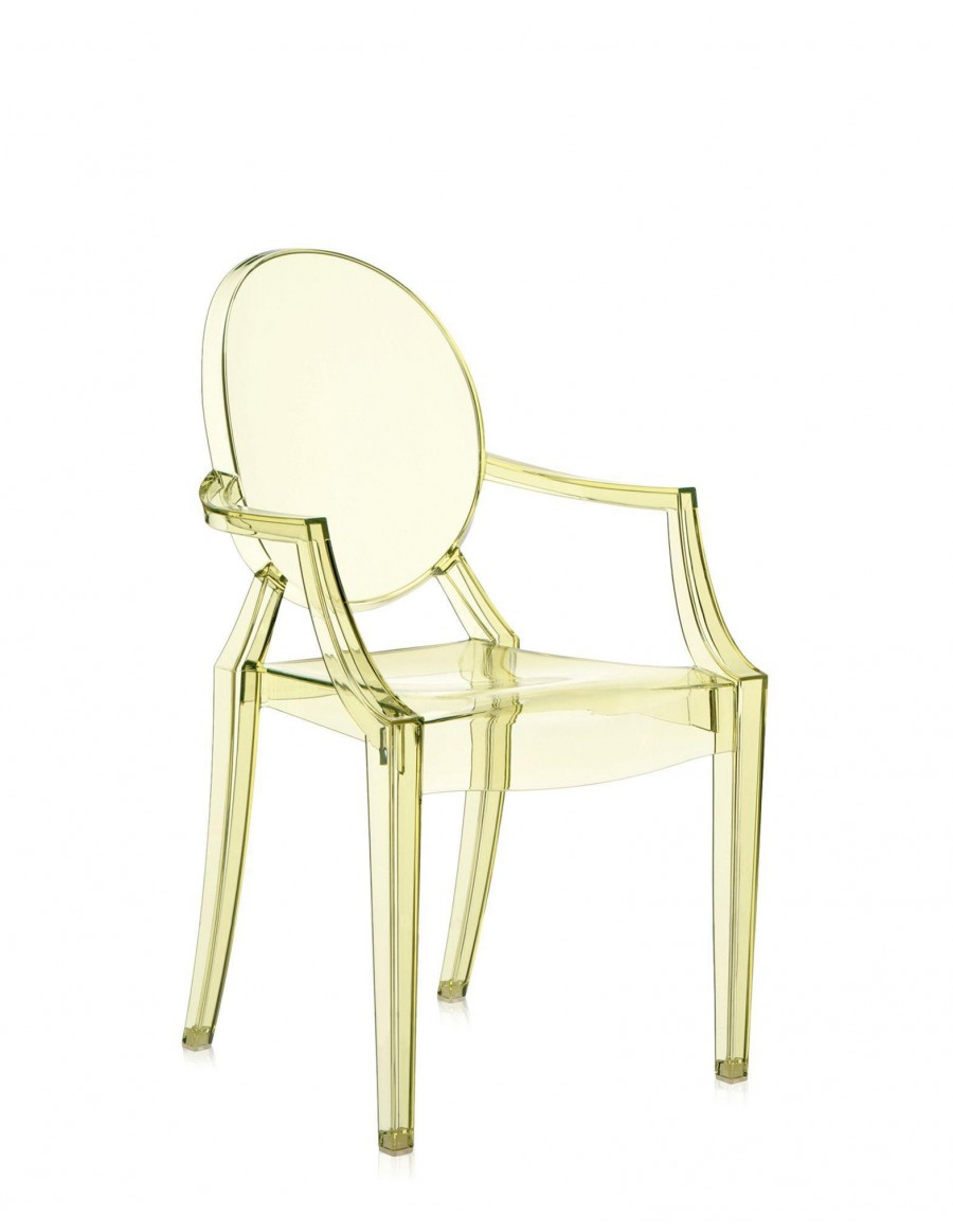 Louis Ghost J2 Straw Yellow by Kartell
