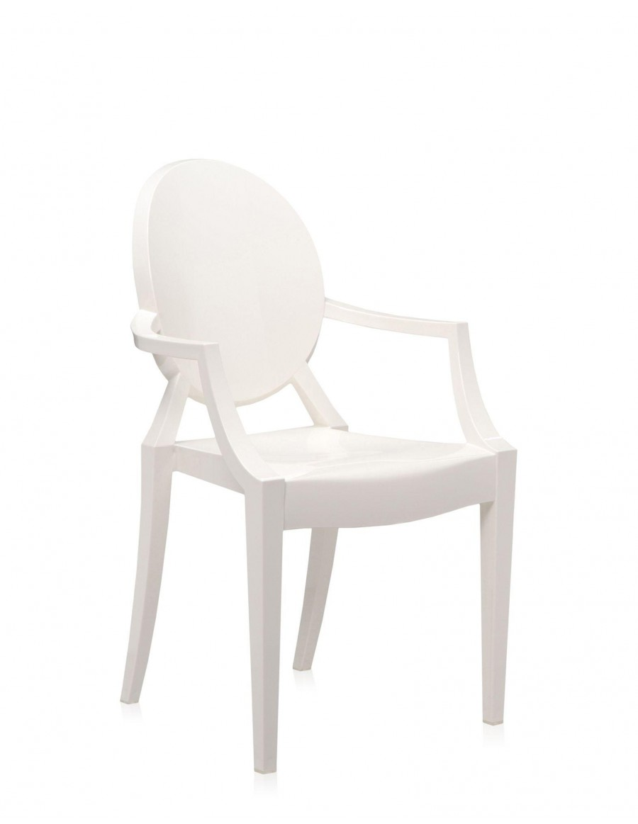 Louis Ghost E5 Glossy White by Kartell