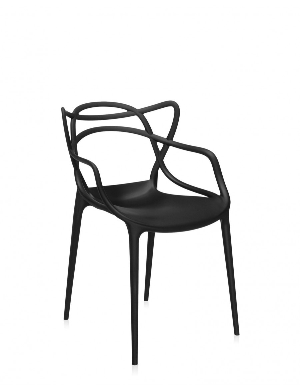 Kartell Masters stol - črne barve