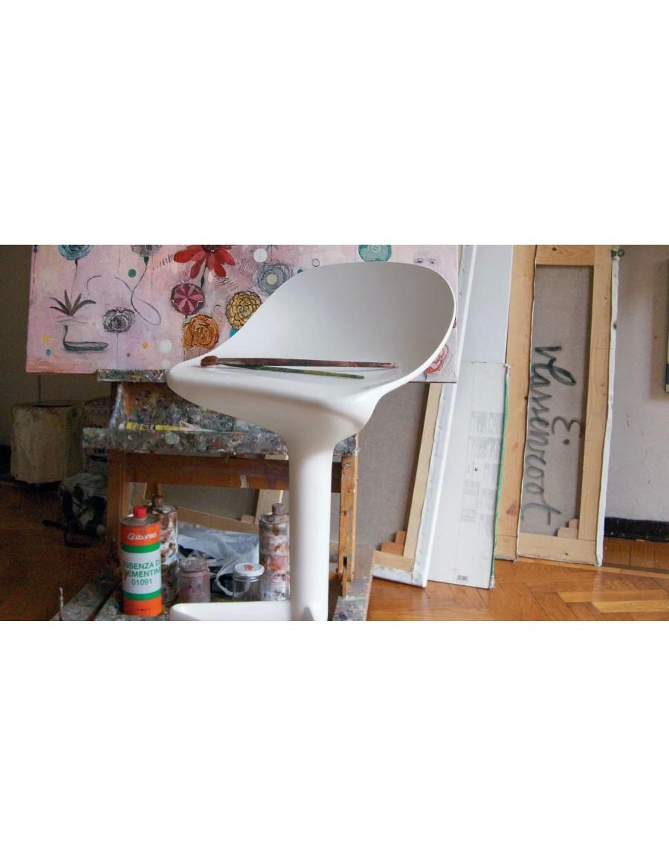 Spoon barski stol - Kartell / 03 white