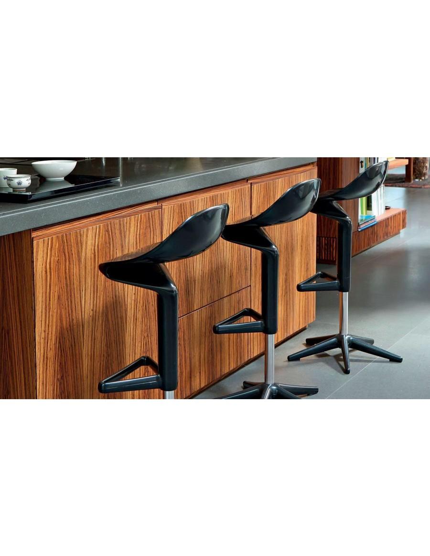 Spoon barski stol - Kartell / 09 black
