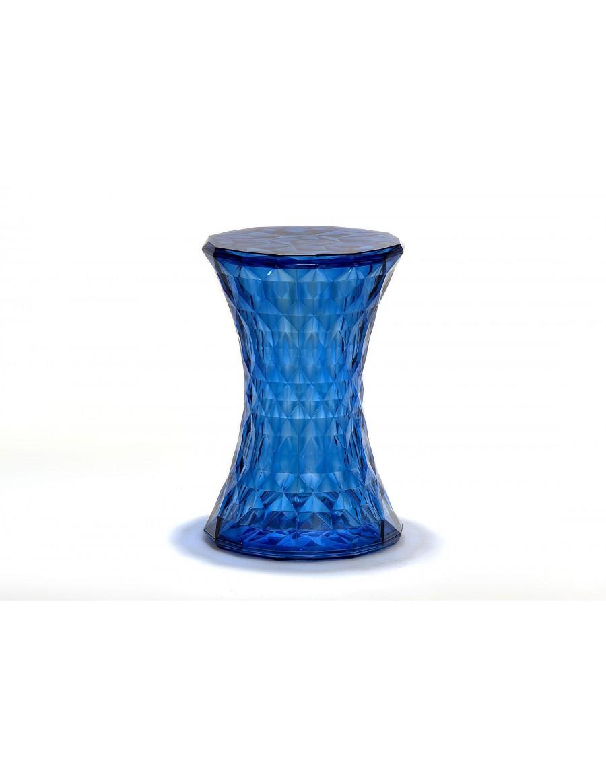 Kartell stol/nizka miza Stone / SB blue