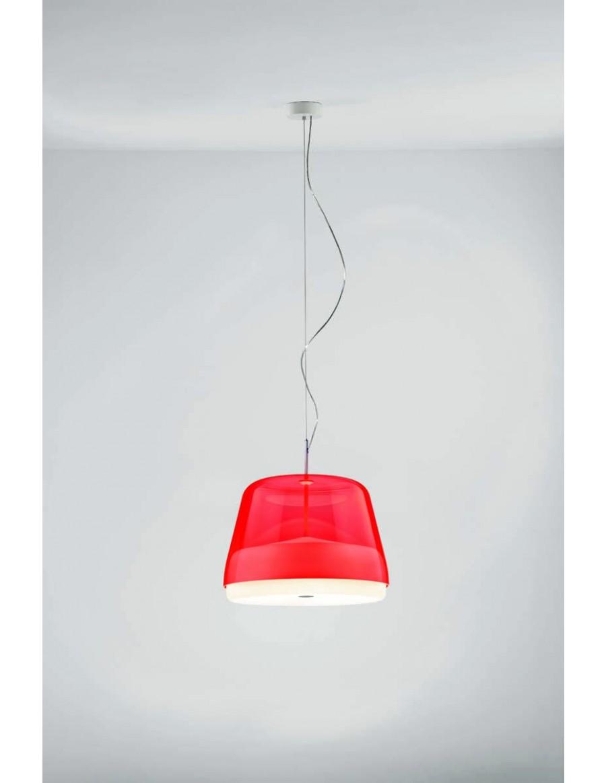 La Belle Clear Red